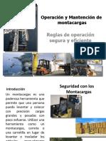CURSO Operación de montacargas