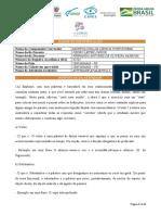 ATIVIDADE 4 - MORFOLOGIA DA LÍNGUA PORTUGUESA