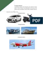 Artikel Transportasi dan bagian