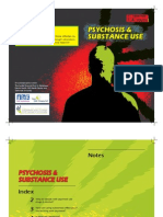 Psychosis and Substance Abuse - Brochure