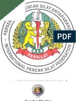 Central Board of International Pencak Silat Federation (IPSF) PERSILAT 2011-2014