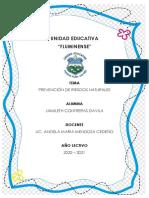 PREVENCION DE RIESGOS NATURALES JAMILETH CONTRERAS