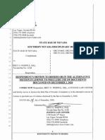Bret Whipple Bar Motion to Dismiss