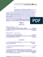 Selectividad Junio 2004 Castilla y Leon Matematicas resueltos
