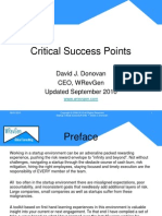 Startup Critical Success Points_WREVGEN