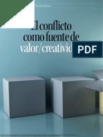El Conflicto Como Fuente de Valor Creatividad