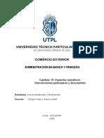 CAPÍTULO 18 ASPECTOS OPERATIVOS  INTERVENCIONES PARTICULARES Y DOCUMENTOS