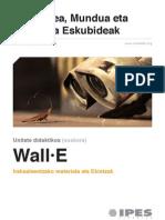 "Unitate didaktikoa ""Wall-E"""