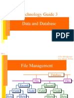 data & database