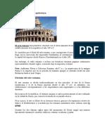 Arte romano y su arquitectura
