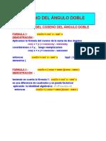 COS DEL ÁNGULO DOBLE_