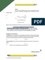 Densidad y peso específico CON01SV-20