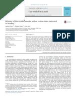 09 Khoa - Behavior of thin-walled circular hollow section tubes subjected to bending