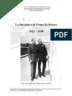 Tema 10. La Dictadura de Primo de Rivera