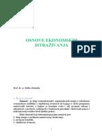 Metodologija istraživanja - Zelenika