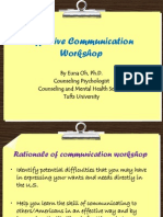 Effective Communication Workshop for IC