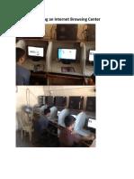 Starting a Internet Browsing Center Business