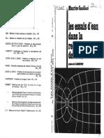 1980 - Les Essais d'Eau Dans La Reconnaissance Des Sols - Cassan