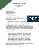 Grassley's Letter to Holder