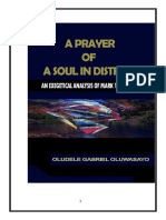 A Prayer of a Soul in Distress by Oludele Gabriel
