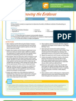 Removing the Evidence Grades K-2