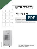 Air Drier Trotec DH 115 S