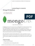 Setting up and connecting to a remote MongoDB database _ by Mithilesh Said _ Founding Ithaka _ Medium