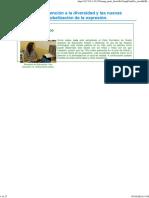 Tema 7. Los Valores, La Atención a La Diversidad y Las Nuevas Tecnologías. La Globalización de La Expresión