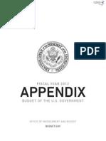 FY 2012 Federal Budget