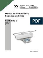 Manual pesa bebe MBC-M-BA-s-1614