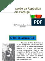 A implantação da República.filmesppt