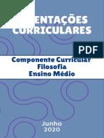 FILOSOFIA - Readequação Curricular