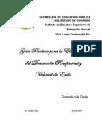 Guía Práctica para elaborar documento recepcional