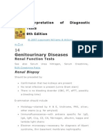 Genitourinary Diseases