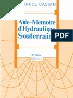 1993 - Aide-Mémoire d'Hydraulique Souterraine - Cassan