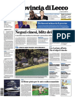 La Provincia Lecco 3 Agosto 2013