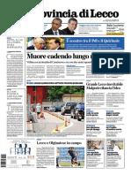 La Provincia Lecco 4 Agosto 2013