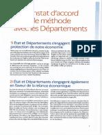 Constat d'accord de méthode Etat ADF