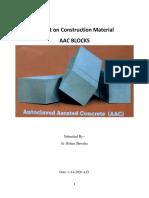 Report on AAC Blocks
