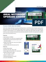 Datasheet_Premier DDR4 2666 SO-DIMM_20190829
