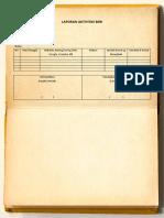 laporan agenda harian BDR
