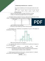 PROBLEMAS PROPUESTOS - METODOS ESTADISTICOS SESION 3