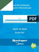 HI WALL SPRINGER MIDEA 33K INVERTER