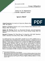 Klick, I (1995) Los nazis en la Argentina