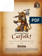 Amazing Races - Catfolk!