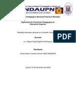 Análisis de la realidad educativa del país en el ámbito Universitario