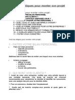 Conseils pratiques pour monter son projet.doc