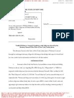 NY AG Verified Petition Geo