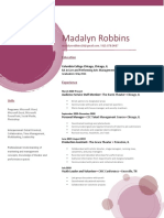 madalyn robbins resume