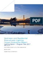 CPUC Group a Upstream Lighting Sector Impact Eval Report FINAL CALMACES